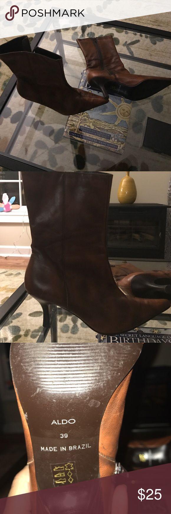 Aldo boots Like new Aldo boots Aldo Shoes Heeled Boots