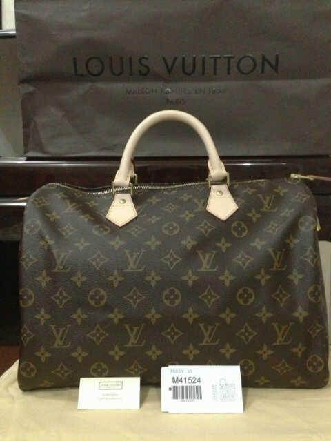 Louis Vuitton Speedy 35 Handbag Monogram