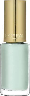 L'Oreal Le Vernis 853 Menthe Glace mintunvärinen vaaleansininen kynsilakka pastelli 5,50 e