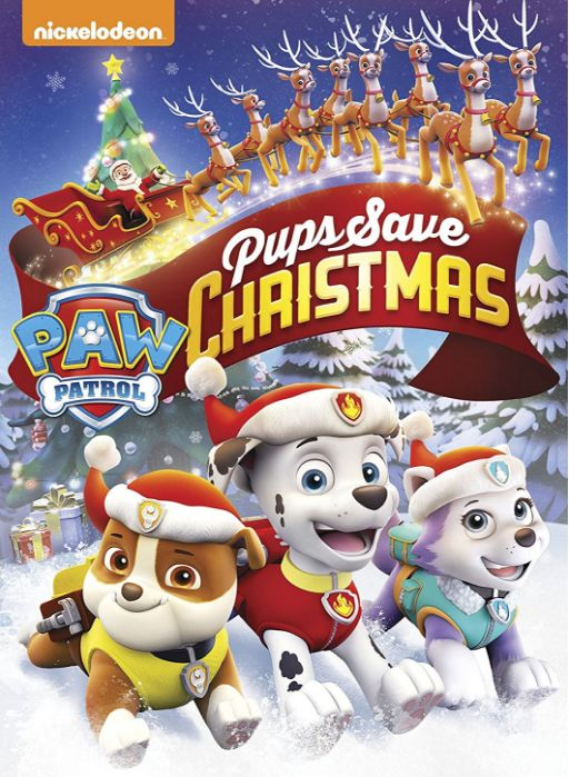 I received the product below in exchange for sharing my honest opinion. Paw Patrol: Pups Save Christmas Released: November 1, 2016 Running Time: 74 minutes Unwrap a high-action adventure this holiday season with a collection from one of the hottest preschool series on TV, PAW Patrol: Pups Save Chris...