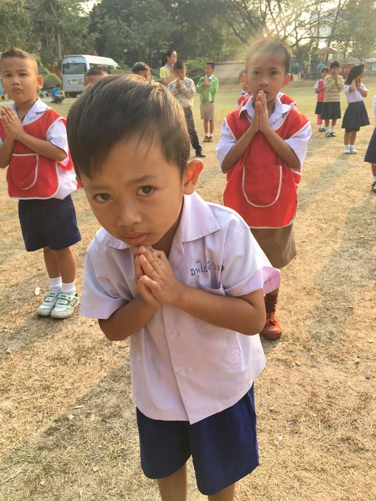 School child, Chiang Mail, Thailand (2)