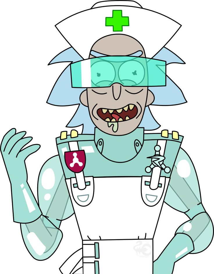 and morty toon Rick