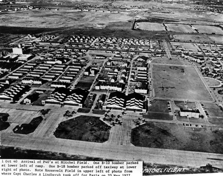 Aviation Mitchel Field Aerial View Aerial View Aerial Island