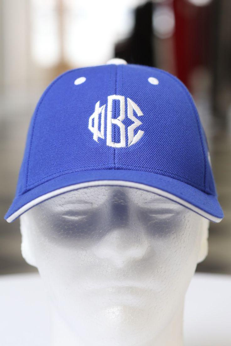 Blue apron beta - Monogrammed Sport Cap Blue White
