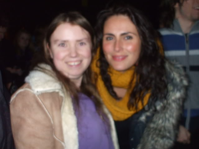 """November 8th 2011….ahh, what a day! My first time seeing WT was the most special night of my life, because I also got to meet Sharon and the band backstage afterwards! All thanks to my sister who came with me and waited with me for two hours for you guys to come out. I have the pic with me and Sharon framed on my wall and I have my signed tickets right next to it. I've got my tickets for next year, so excited. Got balcony seats again."" By MotherOfEarth"