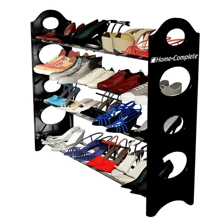 Home-complete shoe rack organizer storage bench Top 10 Best Shoe Racks In 2015 Reviews