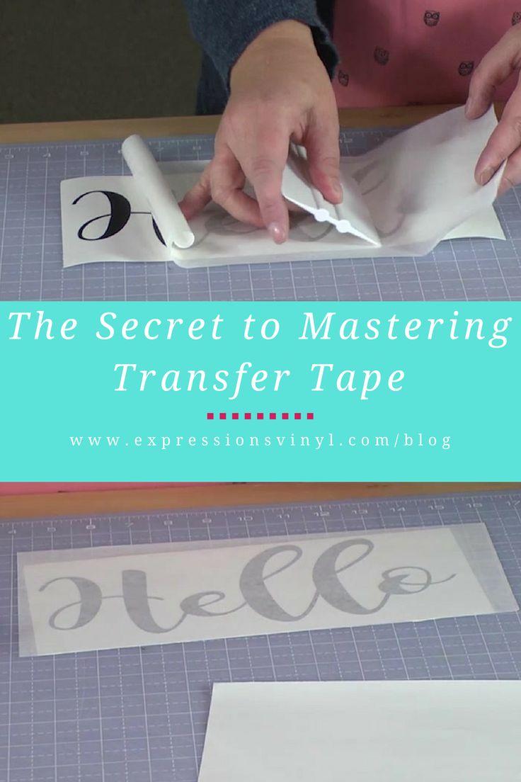 Vinyl lettering decals for crafts - Mastering The Art Of Transfer Tape Vinyl Craftsvinyl