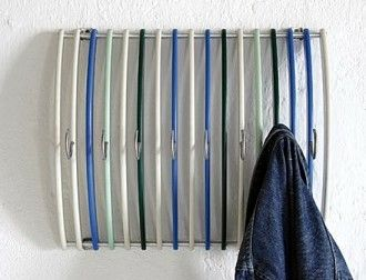 find this pin and more on organize coat hat racks - Creative Hat Racks