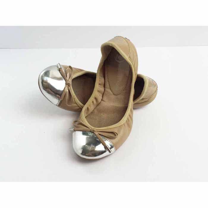 Michael Kors Silver Toe Flats