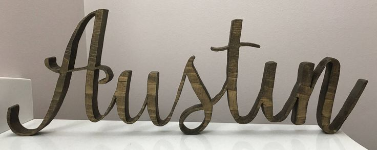 Personalized wood name, wood sign, nursery decor, nursery wall decor, wood letters, rustic, chic, custom wood name, wood name block by NestingSeasons on Etsy https://www.etsy.com/listing/556401115/personalized-wood-name-wood-sign-nursery