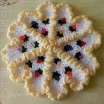 En Güzel Papatya Lif #washcloth #örgü #lif #knit #knitting #crochet