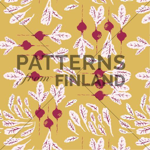 Tanja Kallio: Sato – Punajuuri #patternsfromagency #patternsfromfinland #pattern #patterndesign #surfacedesign #tanjakallio