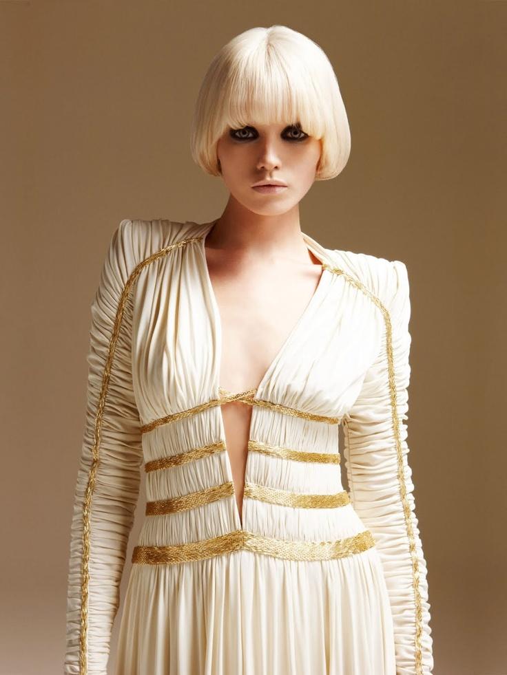 Abbey Leee Atelier Versace 2011 Spring