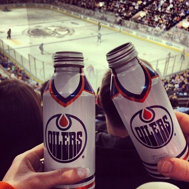 """@sarahfiend's photo: """"Necessary beer #widemouth  #oilers #oilersdoingitagain #wooyeahchips"""""""