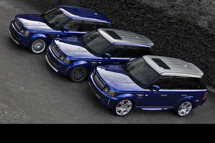 Project Kahn reveals a trio of Range Rovers
