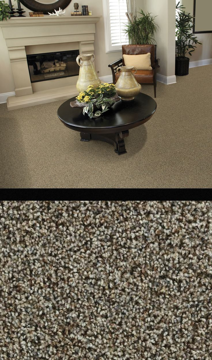 Transform your entire home with Spicebox Frieze Carpet. Made of BCF polyester, this comfortable yet contemporary carpet also includes a 5-year limited wear and stain warranty!