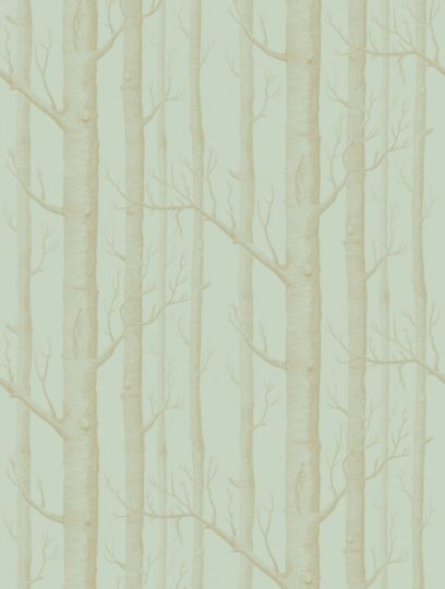 Cole and Son's Woods  in green & gold is taken from the Whimsical wallpaper collection.