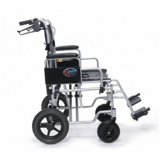 E&J Bariatric Aluminium Transport Chair (EJ777-2)