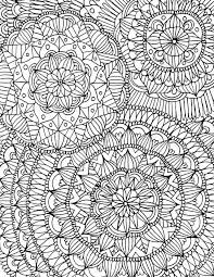 Printable Full Page Mandala Coloring Printable Full Page Colouring Pages Novocom Top