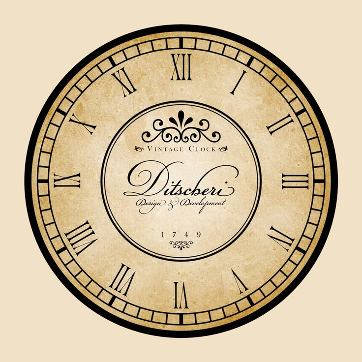 Vintage-Clock-Imprint-Black