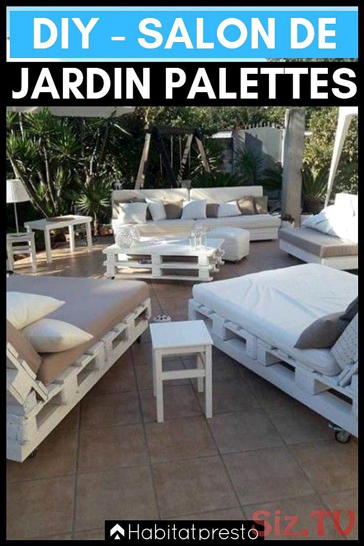Salon De Jardin En Palettes 10 Id Es D Co Originales Salon De