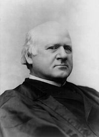 john marshall harlan - The only Supreme Court Justice to dissent on the infamous Plessy v. Ferguson decision.