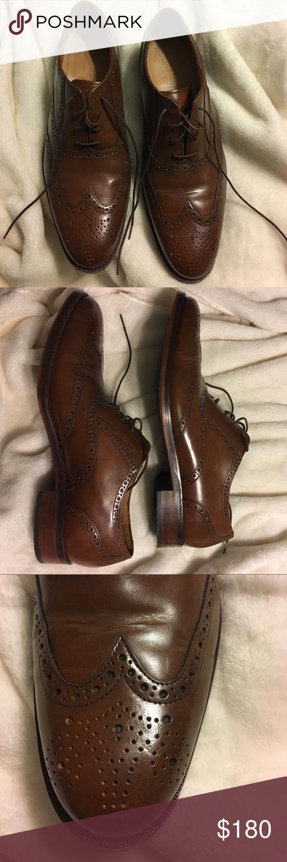 Cole Haan Outlet grandrevølution men's 11.5 oxford Worn twice, like new. Men's 11 1/2 Cole Haan wingtip oxfords. Brown leather. Cole Haan Shoes Oxfords & Derbys