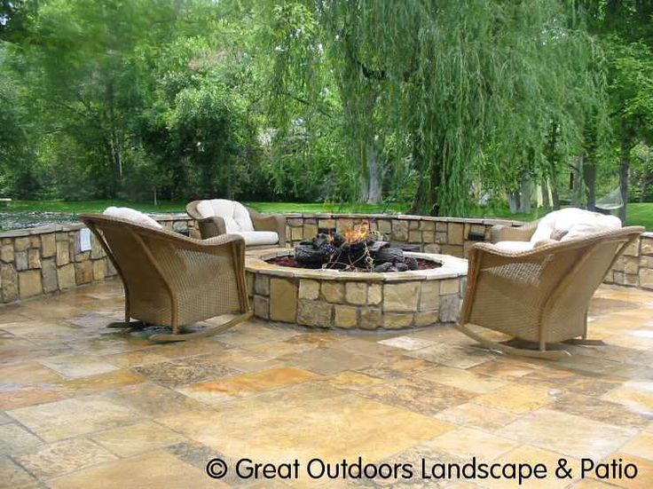 Exceptional Stone Patio Ideas | Denver, Colorado Landscaping Flagstone Patios, Stairs U0026  Pathways