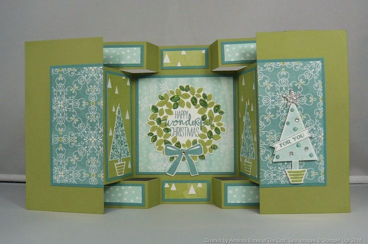 Imperial Tutorial for Large Square Double Display Card
