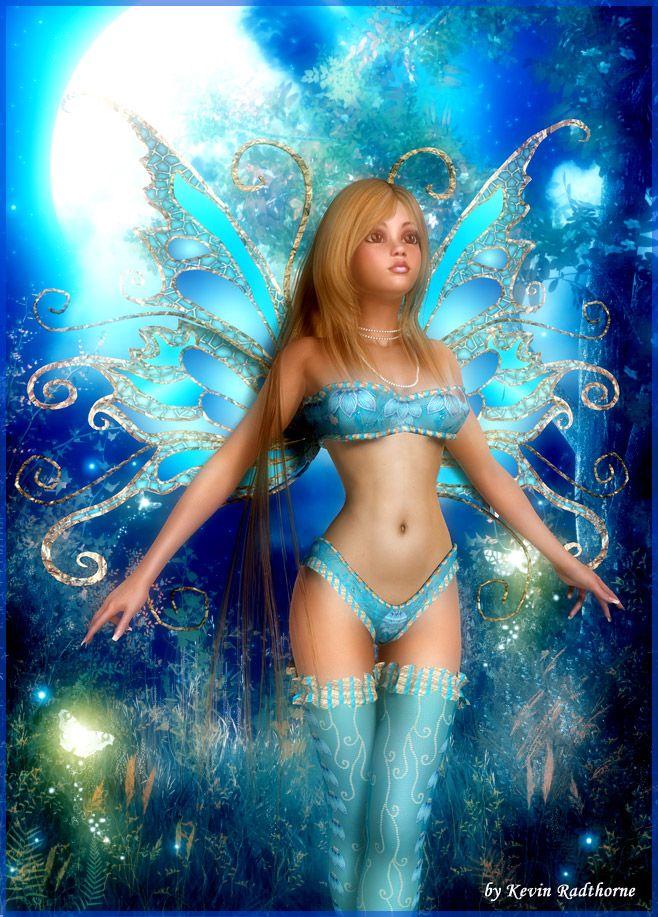 Sweet Fairy by Radthorne.deviantart.com on @deviantART