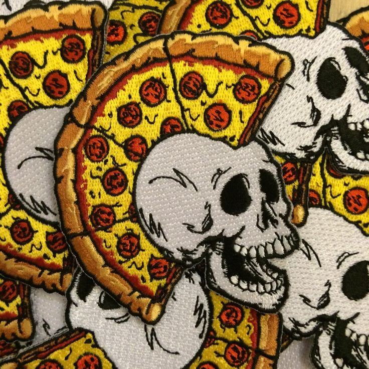 Image of CRUST PUNK PATCH/////Right on