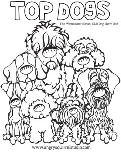 Angry Squirrel Studios Dog Coloring Pages