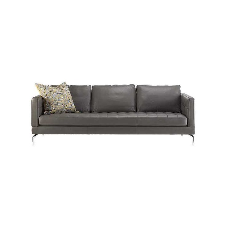 Modern Leather Sofa, Sectional And Ottoman   Seattle Furniture