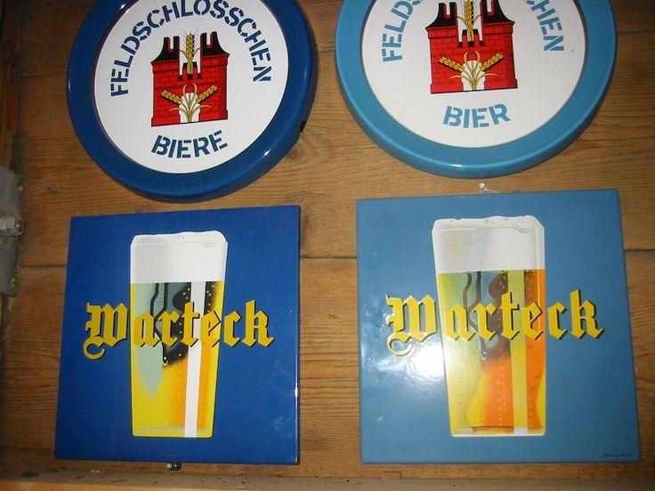 Sammlung Bier   Email-Schild