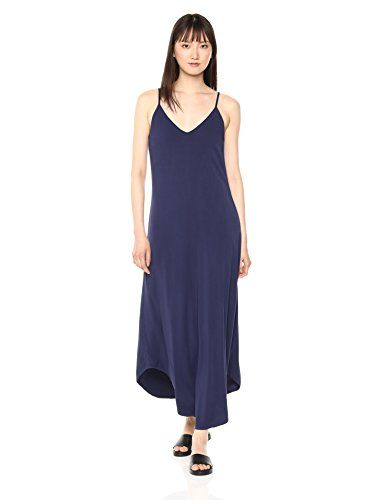 31310aa7bdb1 Michael Stars Women's Rylie Rayon Front-to-Back Maxi Dress, Passport,  Small. Front-to-back gives multi-wear options. Slip style is great and on