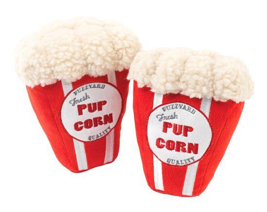 'Pupcorn' Dog Toy by FuzzYard