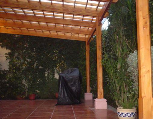 Cobertizos quinchos y parrillas marquesinas dise o y for Techos de teja para terrazas