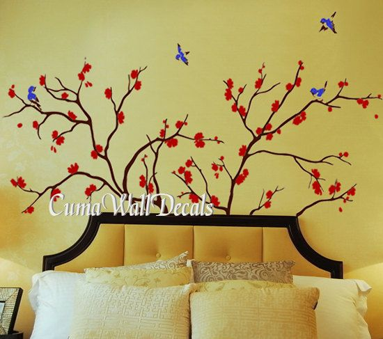Best Decal Images On Pinterest - Custom vinyl wall decals cherry blossom tree