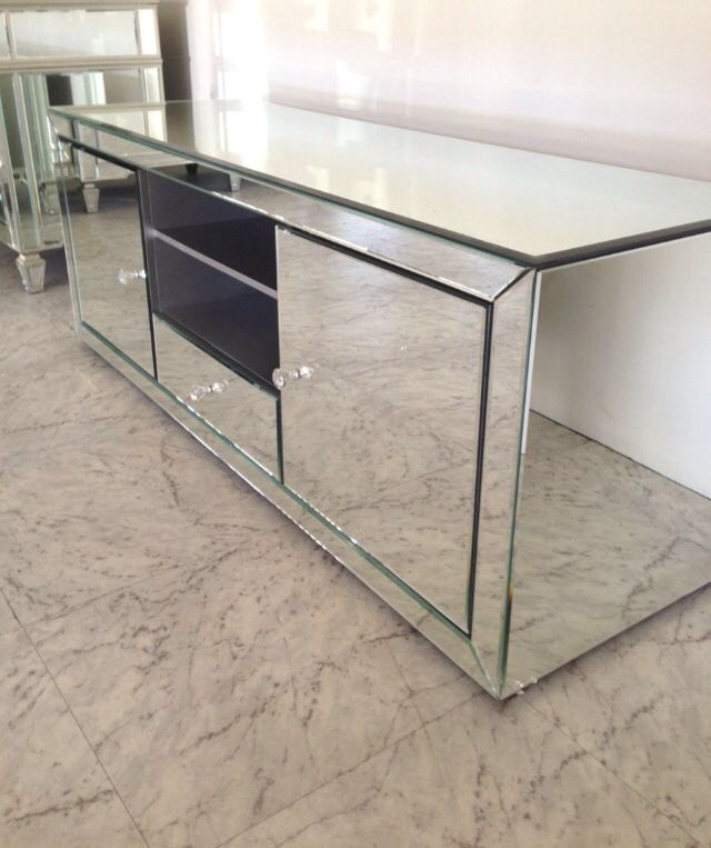 Mirrored Tv Cabinet 017 Pinterest Tvs Tv
