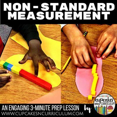 Cupcakes & Curriculum: Non-Standard Measurement in First Grade