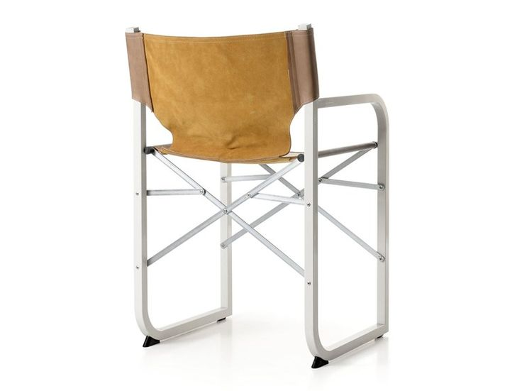Folding chair with armrests MOVIE by Quinti Sedute design Paolo Porcu