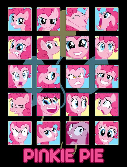 I have officially realized that Pinkie Pie is the most annoying pony I've ever seen. EVER.