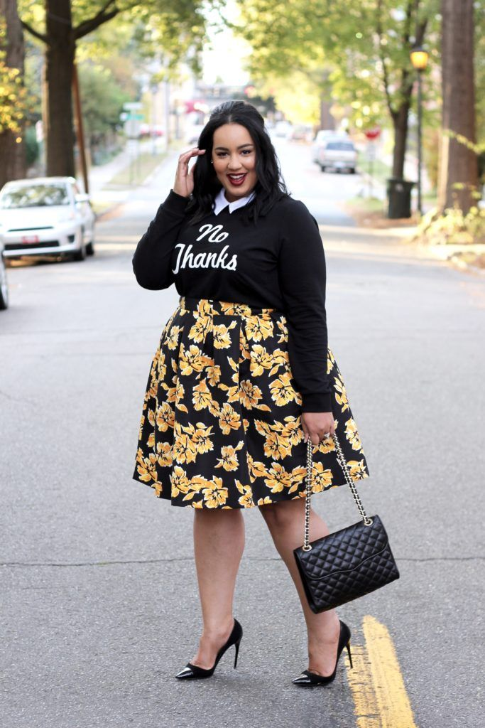 How to Wear a Fall Midi Skirt -  http://beauticurve.com