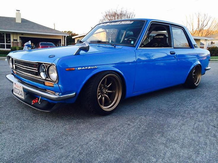 Datsun 510. Love this car, defiantly a classic