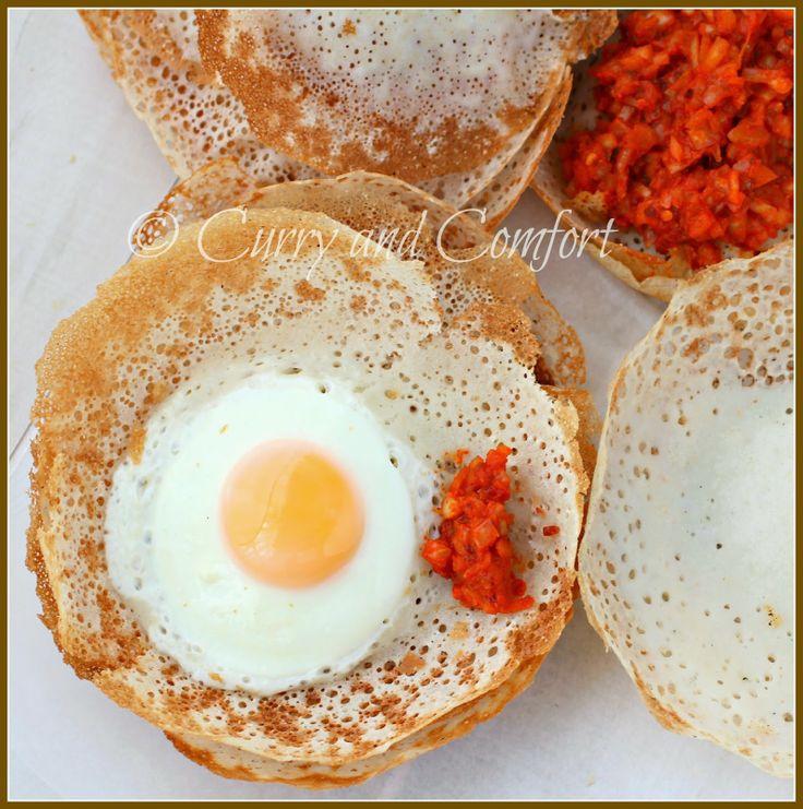 Sri Lankan Hoppers (Appa) | Indian Foods Recipes | Pinterest