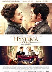 """Hysteria. Inglaterra en plena época victoriana. Según el diagnóstico común de la medicina, las mujeres que padecían de síntomas como depresión, ninfomanía, frigidez, melancolía y ansiedad se encontraban bajo el síndrome de la """"histeria"""". http://www.peliculasycine.net/hysteria/"""