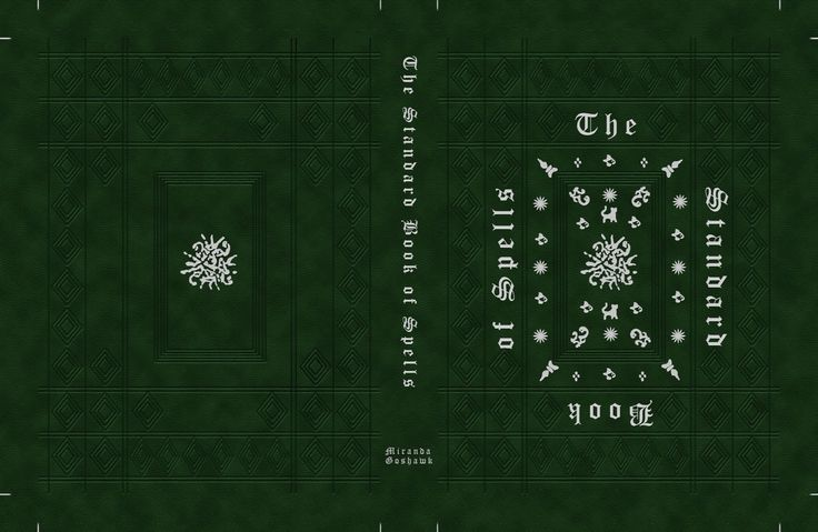 The Standard Book of Spells cover