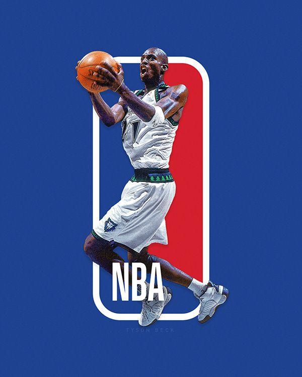 The Next Nba Logo Nba Logoman Series On Behance Nba Logo Nba Basketball Art Nba