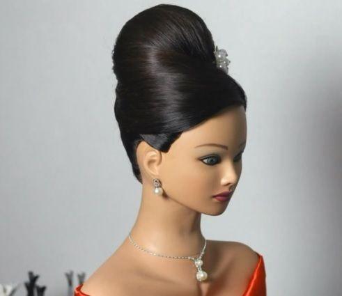 13 best Peinados altos images on Pinterest Bridal hairstyles
