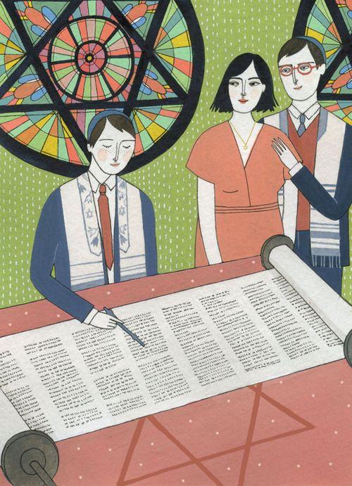 The Little Book of Jewish Celebrations by Yelena Bryksenkova